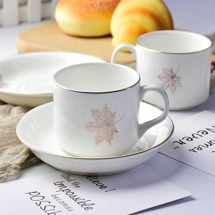 厂家直销骨瓷咖啡杯碟欧