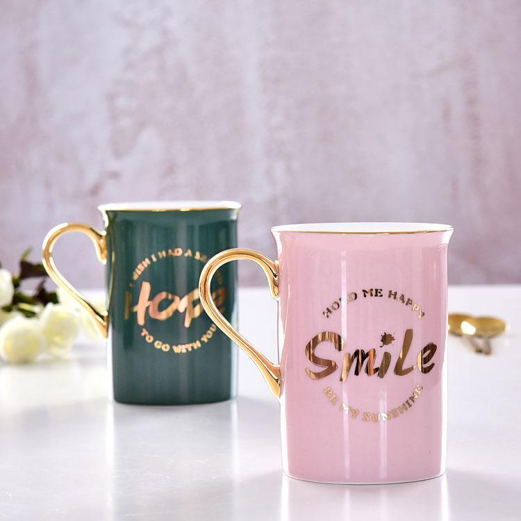 希望爱情陶瓷水杯