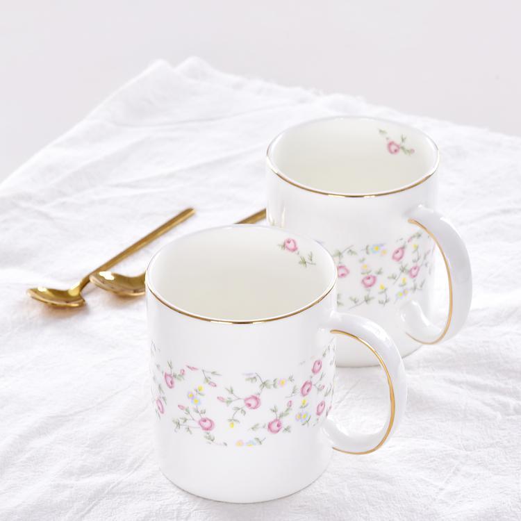 C把直身陶瓷杯定制