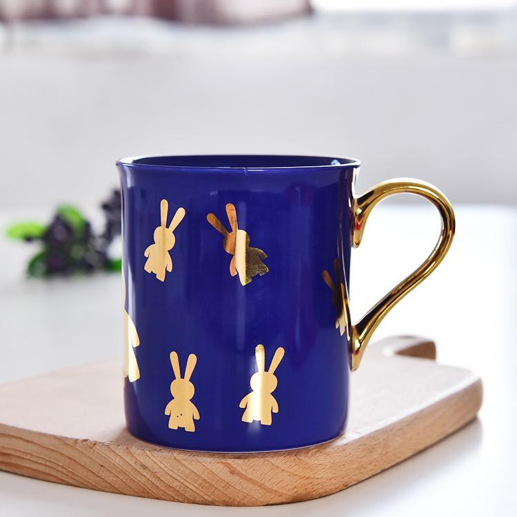 金兔骨瓷杯定制批发