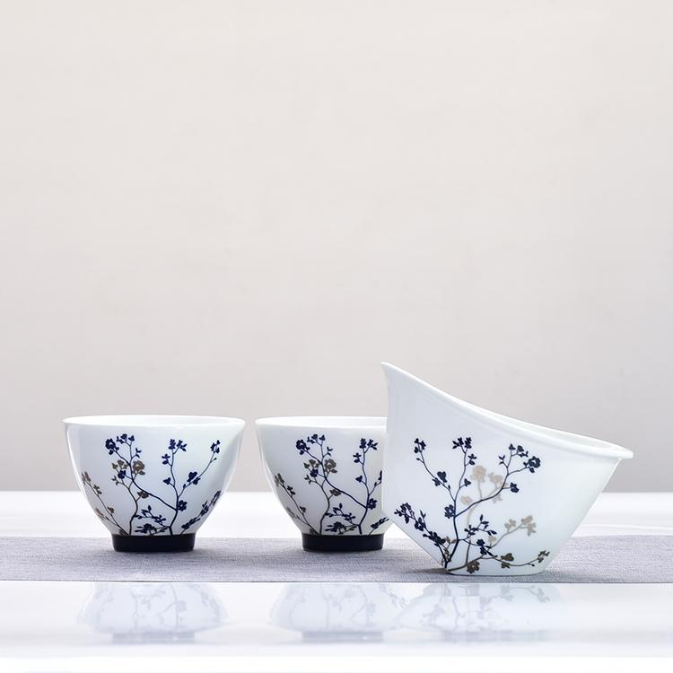 月朦胧骨瓷茶具套装