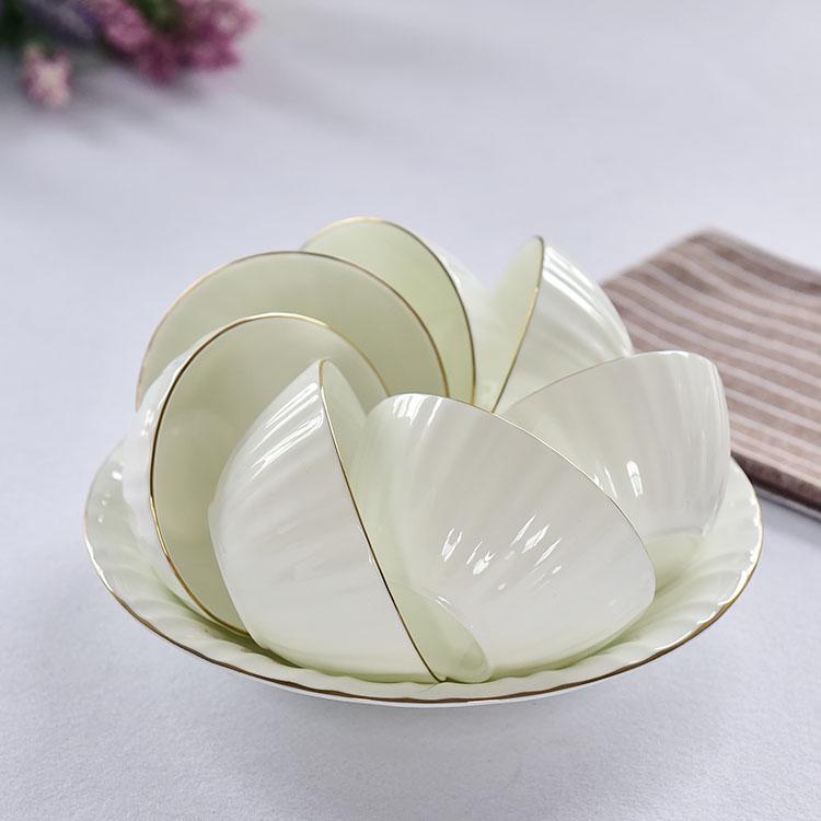 骨质瓷阳光口汤碗