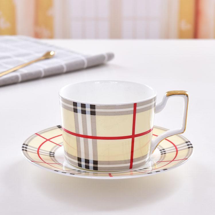 美好时光骨瓷咖啡杯碟