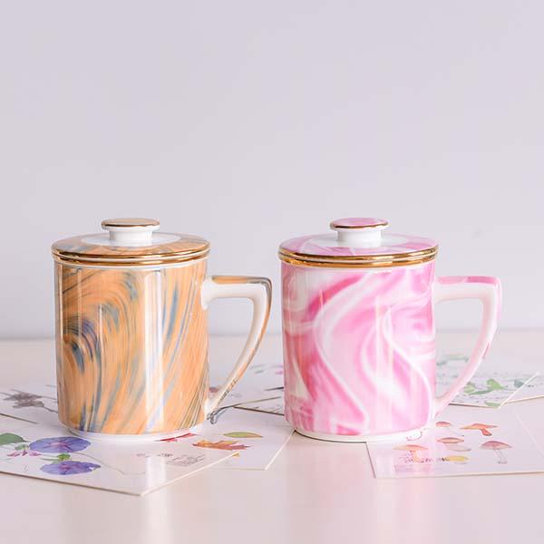 骨瓷茶漏杯