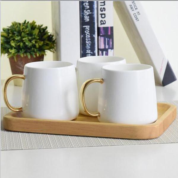 金把陶瓷马克杯定制