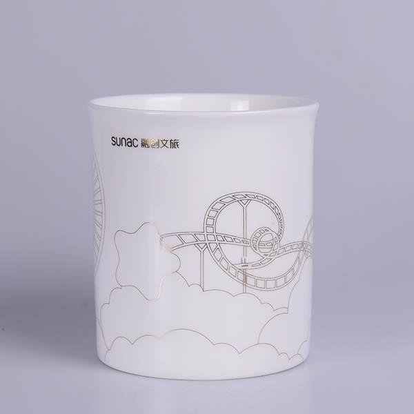 融创文旅陶瓷杯定制
