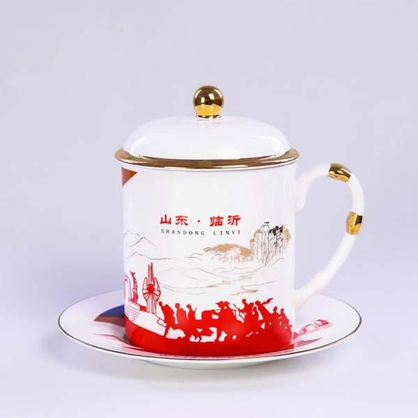 临沂陶瓷金石杯定制